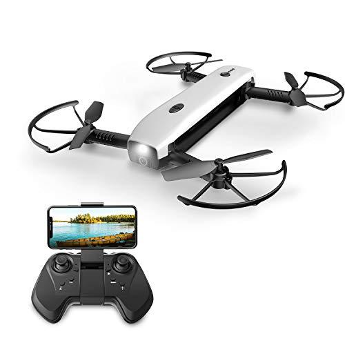 Eanling HS161 FPV Mini RC Drohne faltbar mit HD Kamera1080P,Live Übertragung,Quadcopter ferngesteuert mit...