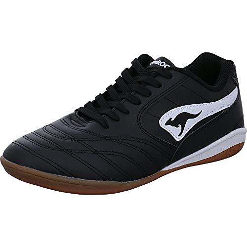 KangaROOS Herren K-Yard 3021 B Sneaker, White/Jet Black 0500, 41 EU