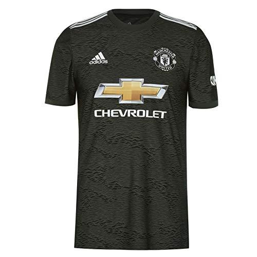 Manchester United FC - Herren Auswärtstrikot von 2020/21 - Offizielles Merchandise - Schwarz - M