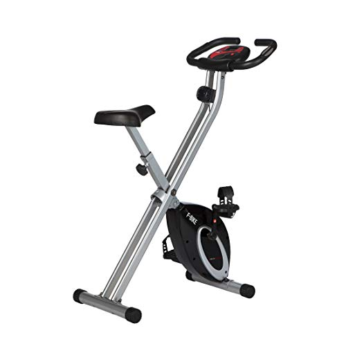 Ultrasport Heimtrainer F-Bike Advanced, LCD-Display, klappbarer Hometrainer, verstellbare Widerstandsstufen,...
