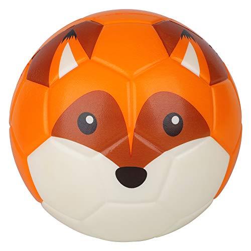 Borpein 15,2cm großer Mini-Fußball, niedliches Tier-Design, weicher Schaumstoffball für Kinder, weich und...