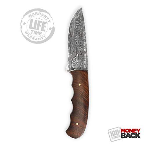Handgemachtes Damast Jagdmesser