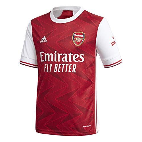 adidas 2020-21 Arsenal Youth Home Trikot – rot-weiß YM