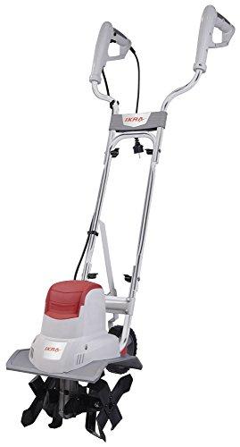 IKRA 70300420 Elektro Bodenhacke Kultivator IEM 800S, Arbeitsbreite 30cm, Arbeitstiefe 20cm, 800 W, 230 V,...