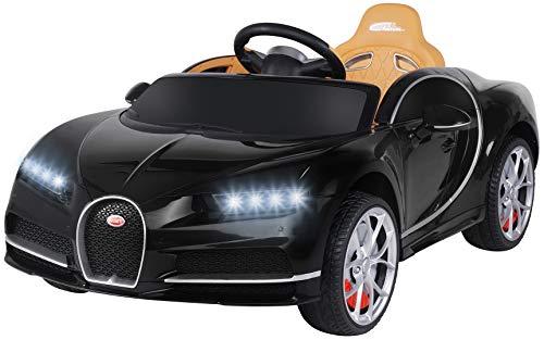 Actionbikes Motors Kinder Elektroauto Bugatti - Lizenziert - Vollgummireifen - 2,4 Ghz Fernbedienung -...