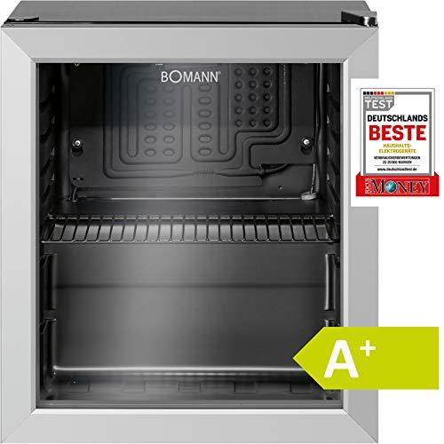 Bomann KSG 237.1 Kühlschrank für Getränke, freistehend, 32 Flaschen, 133 Dosen, A+, 1 Einlegeboden,...
