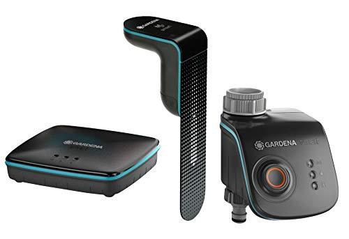 GARDENA smart Sensor Control Set: smart Sensor, smart Water Control und smart Gateway alles in einem Set...