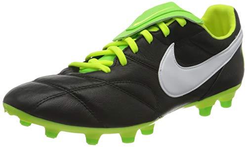 Nike Herren Premier II Fg Fußballschuh, Black/White-Volt-Electric GREE, 44 EU