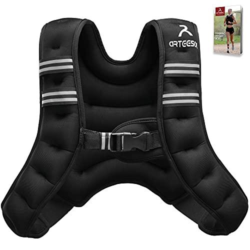arteesol Gewichtsweste, 5KG/10KG Laufweste Gewicht Herren/Damen, Trainingsweste Gewichtsweste mit Gewichten  ...