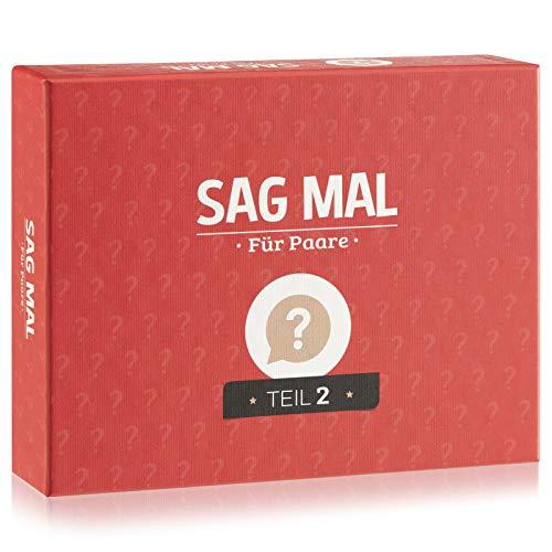 Sag mal.. Für Paare Teil 2 - Jetzt noch mehr Fragen für noch mehr Vertrauen - Geschenke Valentinstag für...