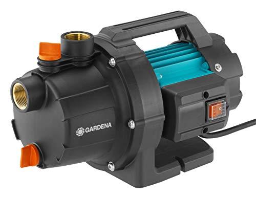 GARDENA Gartenpumpe 3000/4 Basic: 600W Leistung, 3,5 bar max. Druck, ideal zur Gartenbewässerung geeignet,...