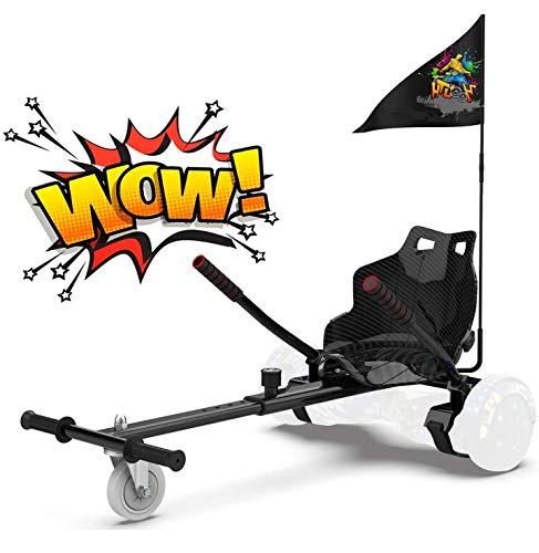 RCB Hoverboard Sitz Hoverkart für Hoberboards Go Kart Längenverstellbar Kompatibel mit Allen Hoverboards -...