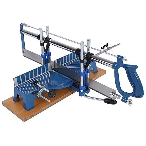Gehrungssäge, 550 mm Manuelle Winkelsäge Gehrungs Handsäge Winkel Holzarbeit-Zimmerei sah Handwerkzeug aus...