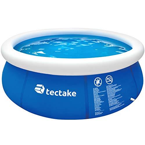 TecTake 800580 - Swimming Pool, Leichter Auf- und Abbau, robuste und Starke Folie - Diverse Modelle (Typ 4 |...