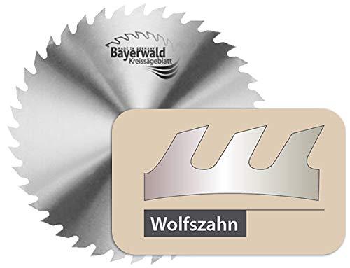 Bayerwald - CS Kreissägeblatt - Ø 600 mm x 2,8 mm x 30 mm | Wolfszahn (56 Zähne) | grobe, schnelle...