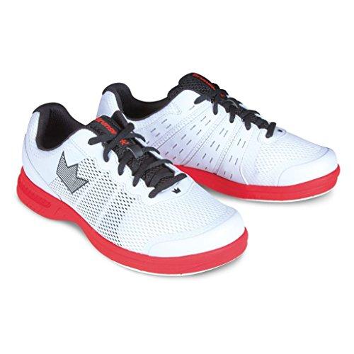 Brunswick Fuze Bowling-Schuhe für Damen und Herren, für Rechts- und Linkshänder Schuhgröße 39-46,...