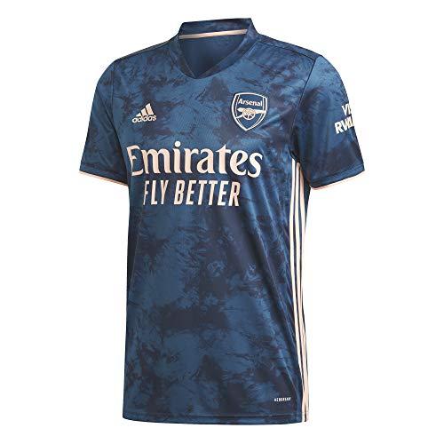 adidas Herren Trikot Arsenal FC 3RD Jersey 2020/21, Legend Marine/Light Flash Orange, S, GH6653
