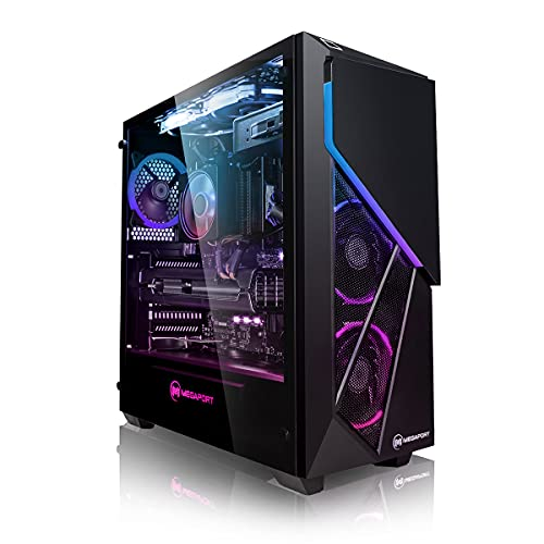 Megaport High End Gaming PC AMD Ryzen 5 5600X 6X 3.7 GHz • Nvidia GeForce RTX 3060 12GB • Windows 10 •...