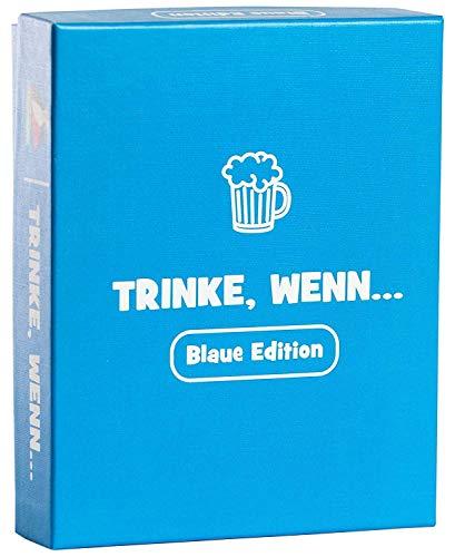 Trinke, wenn.. Das witzige Geschenk für Männer und Frauen - Spiele für Erwachsene als lustiges...