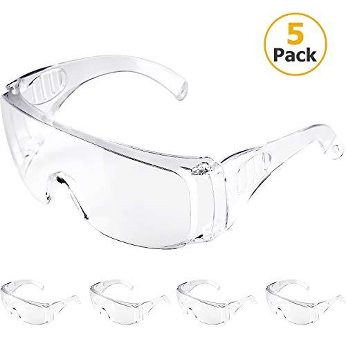 Schutzbrillen Vollsichtbrillen Professionelle Überbrille Arbeitsschutzbrille gegen Staub und TröpfchenIdeal...