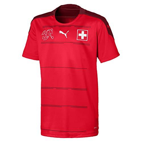 PUMA Jungen SFV Home Shirt Replica Jr Trikot, Red-Pomegranate, 128