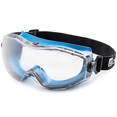 Solid. perfekt sitzende Schutzbrille   Staubdichte Arbeitsschutzbrille mit universeller Passform   Für...