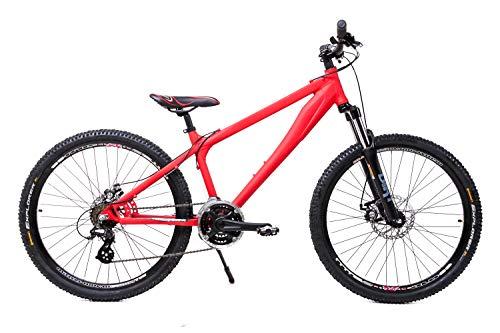 Sachsenring Fahrrad Dirtbike Mountainbike Dirt Bike Jungendfahrradrad Kinderfahrrad 26 Zoll Jugend Kinder 21...