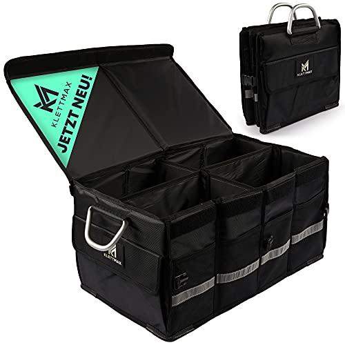 Klettmax® Kofferraumtasche   Auto Organizer für jeden Kofferraum   Autotasche für einen sicheren &...