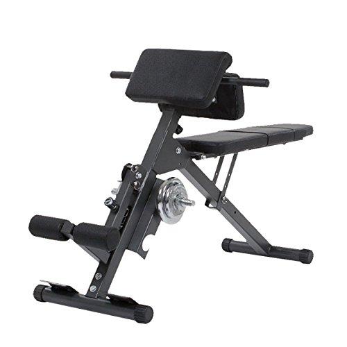 HAMMER Bauch Rückentrainer Ab And Back Trainer Bauch-rückentrainer, schwarz,