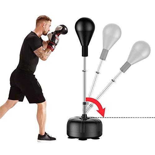 ZEHNHASE Puching Ball Box Set, boxbirne mit standfuß Erwachsene Höhenverstellbar Punching-Training Standbox...