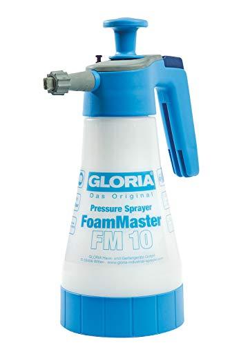 GLORIA FoamMaster FM 10 | Schaumsprüher | 1 L Füllinhalt | Austauschbare Schaumpatronen | Drucksprüher zur...