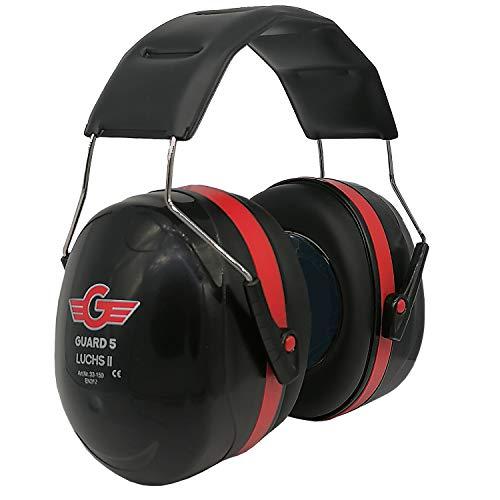GUARD 5 - Kapselgehörschutz LUCHS II - verstellbare Ohrenschützer Hörschutz - SNR 31 - optimaler...