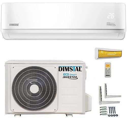 ECO Smart INVERTER WiFi/WLAN-Ready 9000 BTU Split Klimaanlage mit Wärmepumpe Klimagerät mit Heizfunktion...
