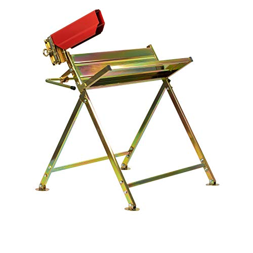 Grafner Sägebock mit Kettensägen-Halterung, bis 120 kg belastbar, stabile Ausführung aus verzinktem Stahl,...