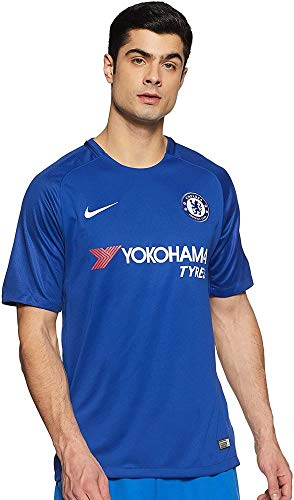 Nike Herren Breathe Chelsea Stadium Trikot, Rush Blue/White, XL