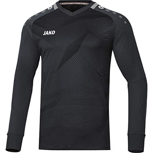 JAKO Kinder Goal Torwart-Trikot, schwarz/Grau, 152