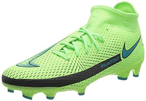 Nike Unisex Phantom GT Academy Dynamic Fit MG Fussballschuh, Lime Glow/Aquamarine, 41 EU