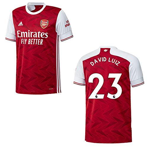 FC Arsenal Trikot Home Herren 2021- David LUIZ 23, Größe:L
