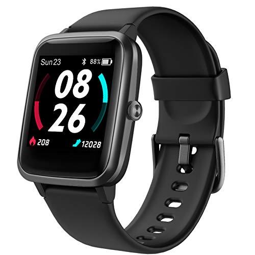 LIFEBEE Smartwatch GPS für Herren Damen, Fitnessuhr 5ATM Wasserdicht, Fitness Tracker 14 Sportmodi mit...