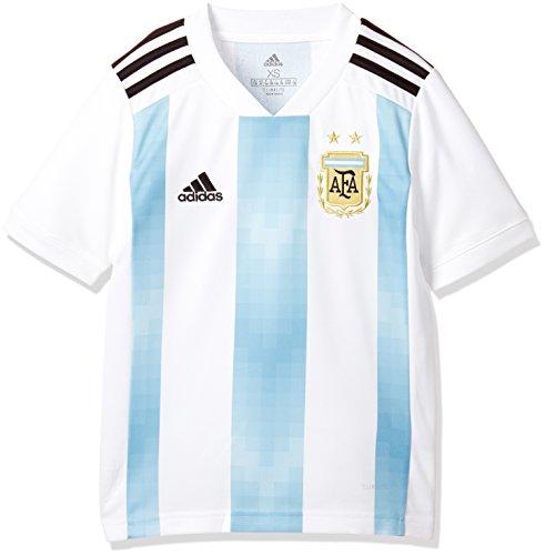 adidas Kinder Argentinien Replica Heimtrikot, White/Clblue/Black, 152.0