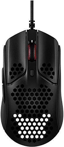 HyperX Pulsefire Haste – Gaming-Maus – Ultraleicht, 59g, Wabenschale, Hex-Design, Hyperflex-Kabel, bis zu...