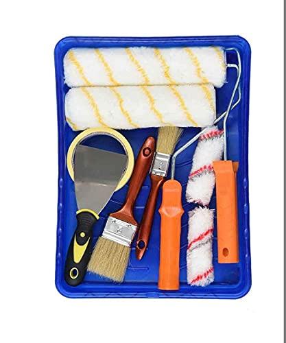 Wandfarbe, Farbroller Set, mit Verschiedenen Paiting-Werkzeugen Farbroller für den Haus- oder Gewerblichen...