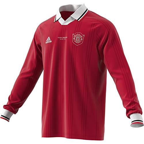 adidas Performance Manchester United Icons Longsleeve Herren rot/weiß, M