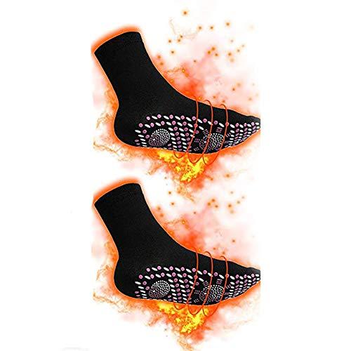 Queta Thermosocken Beheizbare Socken Winter Socken Magnetsocken Turmalinsocken Winter Socken Fußwärmer...