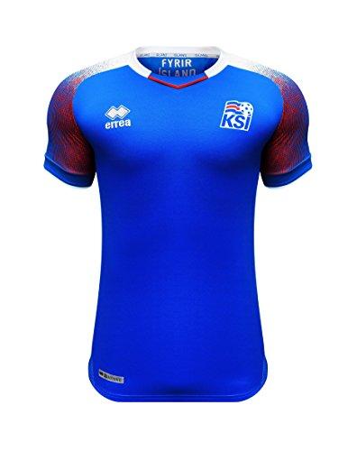 Errea Island Kinder Heim Trikot WM 2018 blau/weiß