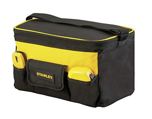 Stanley STST1-73615 Werkzeugtasche mit Tragegurt, Schwarz