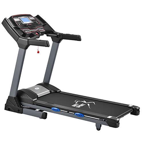 ArtSport Laufband Speedrunner 6000 elektrisch & klappbar 22 km/h | 99 Programme | LCD Display | bis 150 kg...