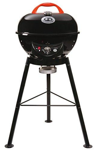 """Outdoorchef Gasgrill """"City 420 G"""" – Kugelgrill mit Trichtersystem für saftige Steaks ohne Wenden –..."""