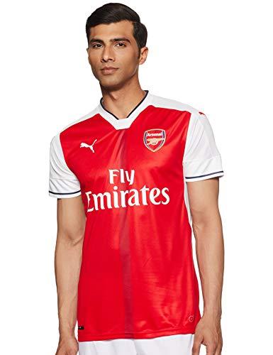 Puma Herren Trikot AFC Home Replica Shirt, high Risk red-White, XL, 749712 01