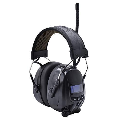 (Aktualisierte Version) Gehörschutz mit DAB + / FM-Radio und Bluetooth 5.0,...